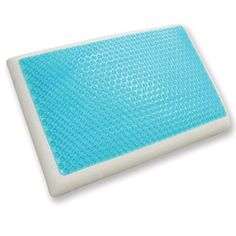 Sleep better with this memory foam and cool gel pillow, ideal for all types of sleepers. Memory foam conforms to your body, while cooling gel relaxes it. This pillow is designed to help chronic pain sufferers. Memory Foam, Contour Pillow, Comfortable Pillows, Night Sweats, Foam Pillows, Wash Pillows, Accent Pillows, Throw Pillows, Menopause