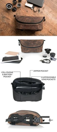 iPhone Camera Bag by Waterfield Designs. Made in San Francisco with Premium  full 7eda4991ae