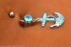 when i get my belly pierced i want this bar!