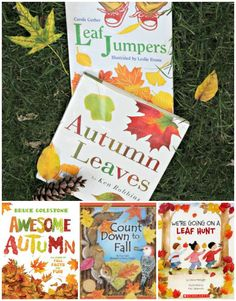 Books about leaves for preschool