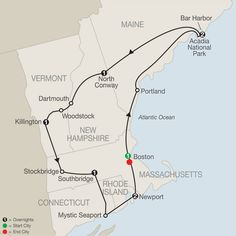 Surprise trip for momma! New England & Fall Foliage Guided Tours & Vacations - Globus® East Coast Travel, East Coast Road Trip, New England States, New England Travel, Minneapolis, Fall Foliage Map, Foliage Tours, Nashville, New England Fall Foliage