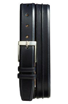 Mezlan 'Parma' Leather Belt Leather Buckle, Leather Belts, Men's Belts, Fashion Belts, Mens Fashion, Belt Shop, Brown Belt, Parma, Well Dressed Men