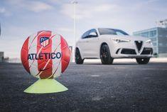 Los jugadores del Atlético de Madrid prueban el nuevo Alfa Romeo Stelvio   Tuningmex.com