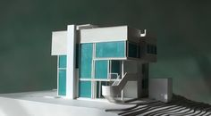 Richard Meier SMITH HOUSE 1:100 scale costs 295,00 euro + shipping 60,00 euro - plexiglass theca info & shopping write to: hist.arch.models@gmail.com