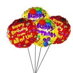 Send Birthday Balloons UK