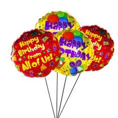 Scream Out Happy Birthday Balloons Balloon Delivery UK Presents