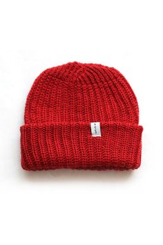 Knit Watchcap - Made in the USA knit winter wool hat   Sanborn Canoe Co.