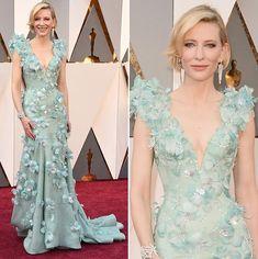 Vestido de festa como inspiração para mãe de noiva | Cate Blanchett veste Armani Privé