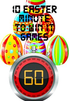 10 Free Easter Minute to Win It Games for Kids http://www.childrens-ministry-deals.com/products/easter-minute-to-win-it-games