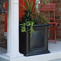 Find it at the Foundary - 20 in. Fairwind Square Patio Planter