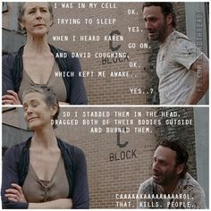 Compilation: Funny TWD Gifs, Memes and general media - Page 25