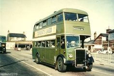 The Crosville buses, we were riding these all the time in Rhyl