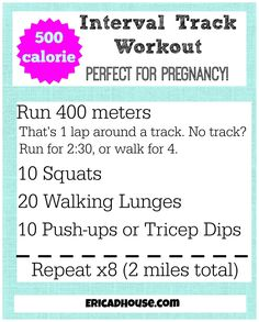 500 Calorie Interval Workout {Zero Equipment Needed!} by @erica_d_house Outdoor Workouts, Easy Workouts, Cardio Workouts, Training Workouts, Tabata, Tennis Workout, Track Workout, Fitness Tips, Health Fitness