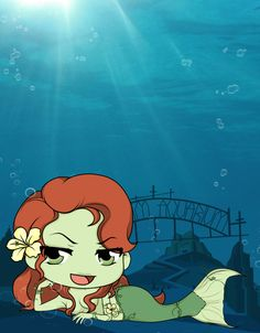Arkham Aquarium - Poison Ivy by Mibu-no-ookami on DeviantArt