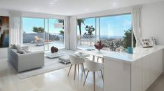 Small luxury #modern project in close to #PuertoBanus, see http://bablomarbella.com/en/show/sale/25044/
