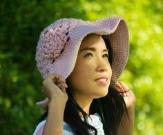 12234free crochet pattern breeze sun hat for summer easy for beginner