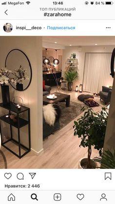 home decor bedroom Apartment Interior, Apartment Living, Home Living Room, Living Room Decor, Interior Design Living Room, Living Room Designs, House Rooms, Cozy House, House Design