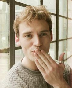 Stay adorable Sam. <3 | Community Post: 18 Times Sam Claflin Proved He Was The Most Adorable Person Ever