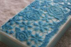 blue lace soap
