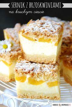 Polish Desserts, Polish Recipes, Cookie Desserts, Other Recipes, Sweet Recipes, Cake Recipes, Dessert Recipes, Sweets Cake, Cupcake Cakes