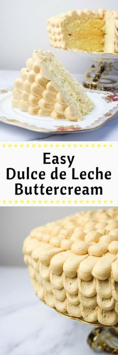 The Easiest Dulce de Leche Buttercream