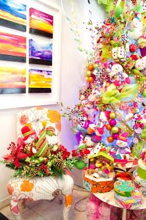 1000 images about christmas on pinterest navidad for Decoracion con esferas de navidad