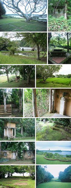ジェフリー・バワの建築:ルヌガンガ-2(ベントタ、スリランカ) 旅行の時間 石井大五+フューチャースケープ建築設計事務所