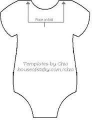 Resultado de imagen para patrones de invitaciones de fomi para baby shower