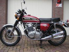 Vintage Honda Motorcycles, Honda Bikes, Custom Motorcycles, Custom Bikes, Vintage Cycles, Vintage Bikes, Honda 750, Cb750, Cool Bikes