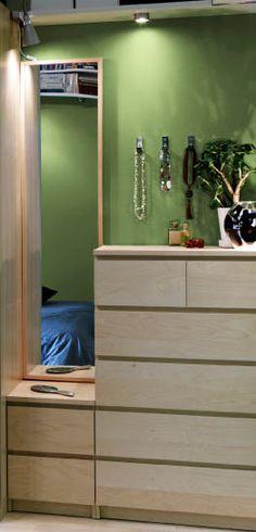 Master bedroom closet solution 2 ikea aneboda armoires - Mueble malm ikea ...