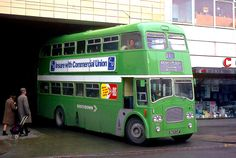 Southdown 963 CUF), a 1964 Leyland with Northern Counties body in NBC Leaf Green livery at Bognor Regis bus station Bedford Buses, Lefty Guitars, Bognor Regis, Cigarette Brands, Double Decker Bus, Bus Coach, Secrets Revealed, Bus Station, Bus Stop