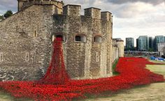 888,246 Poppies Pour Like Blood From The Tower Of London To Remember The Fallen Soldiers Of WWI