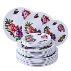 Plastic Dinnerware Sets, Gold Plastic Plates, Summer Design, Spring Party, Charger Plates, Plate Sets, Silver Spoons, Flatware Set, Wedding Reception