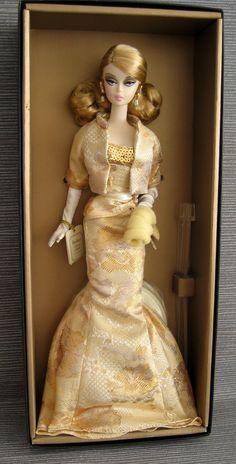 Details zu 2009 Convention Silkstone Golden Gala Barbie NRFB signed by Robert…
