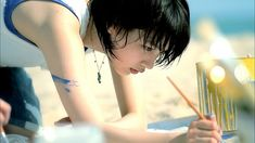 能年玲奈 突然の肩車にドキっ! カルピスウォーターの新CM「海の家ライブ」篇が5月11日よりオンエア!