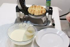 Classic Restaurant Style Belgian Waffles : 9 Steps (with Pictures) - Instructables Best Belgian Waffle Recipe, Classic Restaurant, Homemade Waffles, Snickers Bar, Eat Your Heart Out, Belgian Waffles, Waffle Iron, Waffle Recipes, Frozen Yogurt