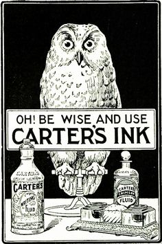 carters ink 1904 by Captain Geoffrey Spaulding, via Flickr