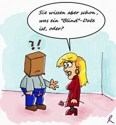 Blinde partnersuche