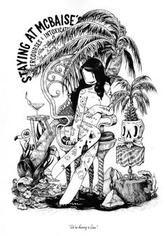 McBess Black & White Illustrations – Fubiz Media