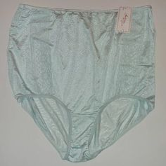 Intimate Fashions by Teri Nylon Granny Panties Size 13 style 334 XX blue #Lorraine #BriefsHiCuts