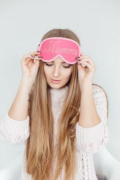 Sorry I/'m Late Sleep Mask Felt Sleep Eye Mask Girl Boss Sleeping Unisex Eyemask Embroidery Handmade Modern Gift Accessories m15