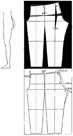 Most current Images 25 Ideas Sewing Hacks Pants For 2019 Ideas, Dress Sewing Patterns, Sewing Patterns Free, Clothing Patterns, Sewing Tutorials, Sewing Tips, Sewing Pants, Sewing Clothes, Techniques Couture, Sewing Techniques