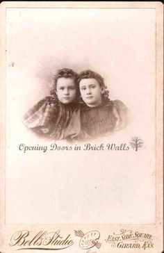 Old Photographs Saved From Trash Can ~ #18 Olive ROYALTY 1871-1949 | Opening Doors in Brick Walls