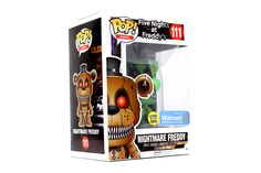 POP! Games: Five Nights At Freddy's - Nightmare Freddy [GITD]