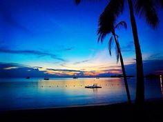 Jamaica puesta de Sol en Negril…