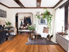 Minimal New England Meets Eclectic 1970s West Coast Hand-built House 6