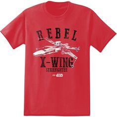 LEGO Star Wars Rebel X-Wing Starfighter Logo T-Shirt #starwars #lego #starfigher #empire #jedi #rebel #tees
