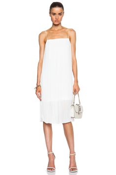 Image 1 of Dion Lee II Corrugated Cami Dress in White
