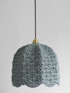 knit lampshades