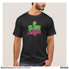 Slime Princess T-Shirt - Classic Relaxed T-Shirts By Talented Fashion & Graphic Designers - #shirts #tshirts #mensfashion #apparel #shopping #bargain #sale #outfit #stylish #cool #graphicdesign #trendy #fashion #design #fashiondesign #designer #fashiondesigner #style